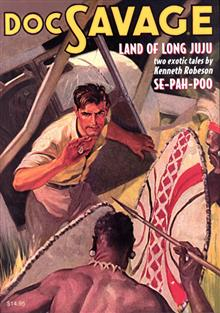 DOC SAVAGE DOUBLE NOVEL VOL 73 LAND OF LONG JUJU