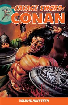 SAVAGE SWORD OF CONAN TP VOL 19