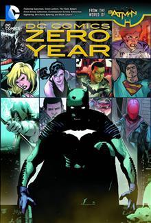DC COMICS ZERO YEAR TP (N52)