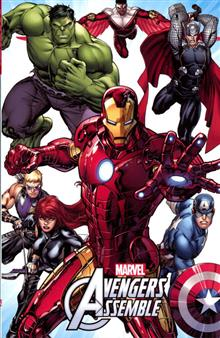 MARVEL UNIVERSE ALL NEW AVENGERS ASSEMBLE DIGEST TP VOL 01