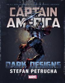 CAPTAIN AMERICA DARK DESIGNS PROSE NOVEL HC