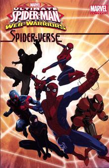 MARVEL UNIVERSE ULT SPIDER-MAN SPIDER-VERSE DIGEST TP