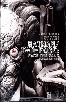 BATMAN TWO FACE FACE THE FACE DLX ED HC