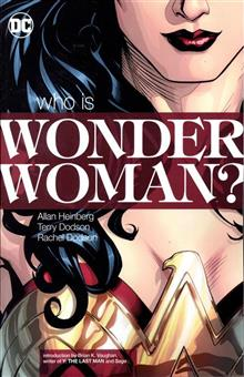 WONDER WOMAN WHO IS WONDER WOMAN TP NEW ED