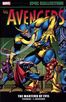 AVENGERS EPIC COLLECTION TP MASTERS OF EVIL