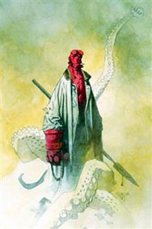 HELLBOY ODDER JOBS ILLUSTRATED NOVEL