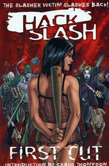 HACK SLASH VOL 1 FIRST CUT TP