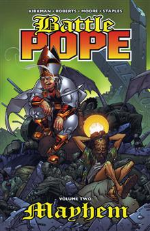 BATTLE POPE VOL 2 MAYHEM TP (MR)