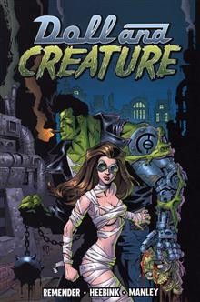 DOLL & CREATURE VOL 1 EVERYTHING TURNS GRAY TP