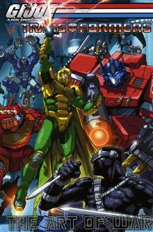 GI JOE VS TRANSFORMERS VOL 3 ART OF WAR TP