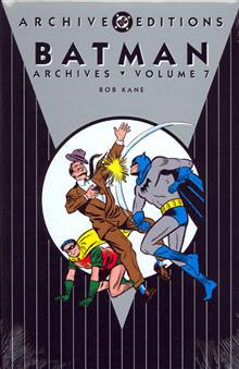BATMAN ARCHIVES VOL 7 HC