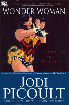 WONDER WOMAN LOVE AND MURDER HC
