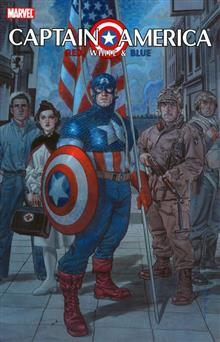 CAPTAIN AMERICA RED WHITE &amp; BLUE TP
