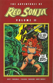 ADVENTURES OF RED SONJA VOL 2 SHE DEVIL WITH SWORD TP (Res)