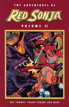 ADVENTURES OF RED SONJA VOL 2 SHE DEVIL WITH SWORD (Cover A)