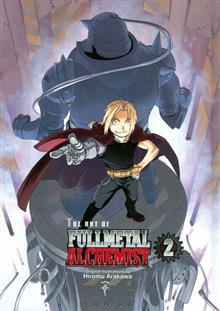 ART OF FULLMETAL ALCHEMIST VOL 2