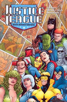 JUSTICE LEAGUE INTERNATIONAL VOL 3 HC