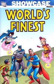 SHOWCASE PRESENTS WORLDS FINEST TP VOL 02