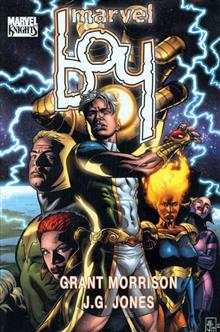 MARVEL BOY PREM HC DM ED