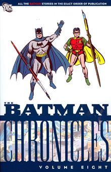 BATMAN CHRONICLES VOL 8 TP