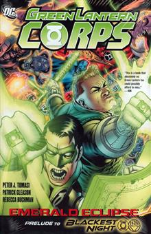 GREEN LANTERN CORPS EMERALD ECLIPSE HC