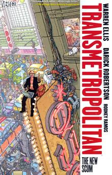 TRANSMETROPOLITAN VOL 4 THE NEW SCUM TP NEW PTG