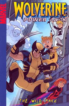 WOLVERINE AND POWER PACK WILD PACK DIGEST TP