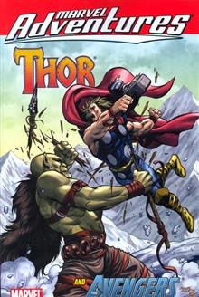 MARVEL ADVENTURES THOR AND AVENGERS TP DIGEST