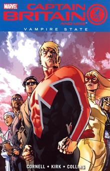 CAPTAIN BRITAIN AND MI 13 VOL 3 VAMPIRE STATE TP