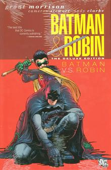BATMAN AND ROBIN DELUXE HC VOL 02 BATMAN VS ROBIN