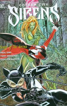 GOTHAM CITY SIRENS SONG OF THE SIRENS HC
