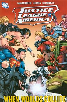 JUSTICE LEAGUE OF AMERICA WHEN WORLDS COLLIDE TP