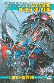 SUPERMAN LAST STAND OF NEW KRYPTON HC VOL 01