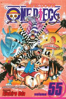 ONE PIECE GN VOL 55