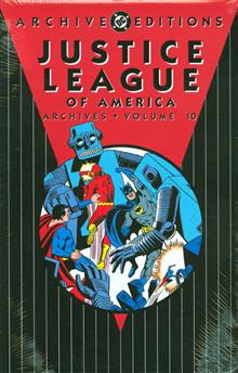JUSTICE LEAGUE OF AMERICA ARCHIVES HC VOL 10