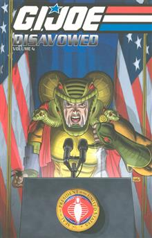 GI JOE DISAVOWED TP VOL 04