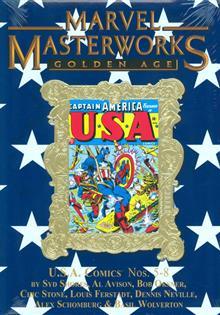 MMW GOLDEN AGE USA COMICS HC VOL 02 DM VAR ED 172