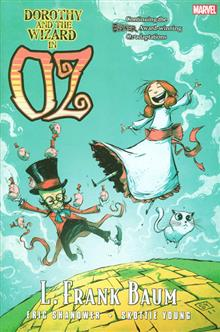 OZ HC DOROTHY AND WIZARD IN OZ