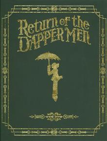 RETURN O/T DAPPER MEN HC VOL 01 LEATHER BOUND ED
