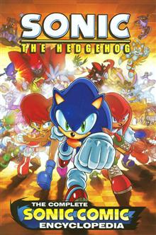 SONIC THE HEDGEHOG COMPLETE COMIC ENCYCLOPEDIA TP