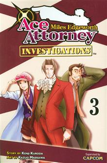 MILES EDGEWORTH ACE ATTORNEY GN VOL 03 (MR)