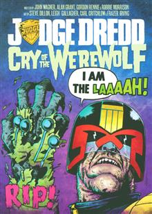 JUDGE DREDD CRY O/T WEREWOLF GN (MR) (C: 1-1-2)