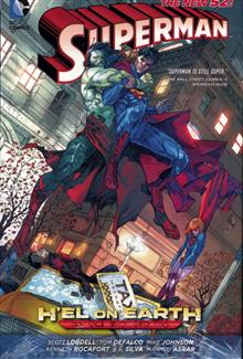 SUPERMAN HEL ON EARTH HC (N52)