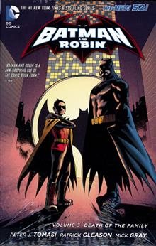 BATMAN & ROBIN HC VOL 03 DEATH OF THE FAMILY (N52)