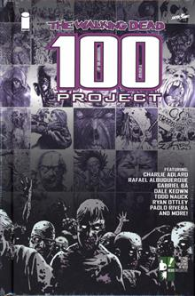 WALKING DEAD 100 PROJECT LTD ED HC (MR)