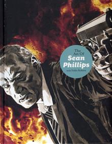 ART OF SEAN PHILLIPS SIGNED HC (MR)