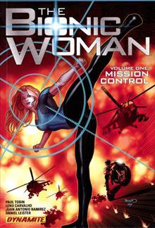 BIONIC WOMAN TP VOL 01 MISSION CONTROL
