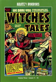 HARVEY HORRORS WITCHES TALES SOFTIE TP VOL 03
