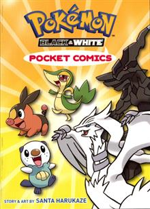 POKEMON POCKET COMICS BLACK & WHITE GN