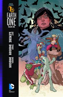 TEEN TITANS EARTH ONE HC VOL 01